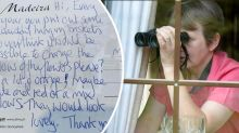 Woman shocked by neighbour's bizarre request
