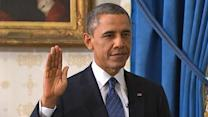 Obama takes oath of office