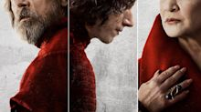 Star Wars 8: The Last Jedi gets six new character posters
