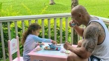 Dwayne Johnson Jokes He Put 'Tequila' in His Cup During Daddy-Daughter Tea Party with 3½-Year-Old