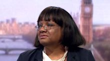 Diane Abbott refuses to say she 'regrets' calling for IRA to defeat British state