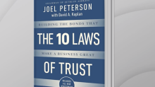 JetBlue Airways Chairman Joel Peterson on his book 'The 10 Laws of Trust'