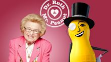 Dr. Ruth teams with Mr. Peanut for Valentine's Day sex advice