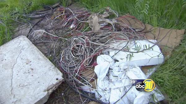 Copper wire thieves take the crime to a new level