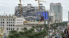 The Latest: 2nd crane in danger of collapse