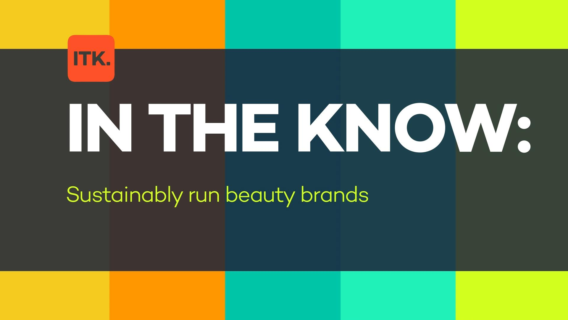 news.yahoo.com: These forward-thinking brands are bringing sustainable options to the beauty industry
