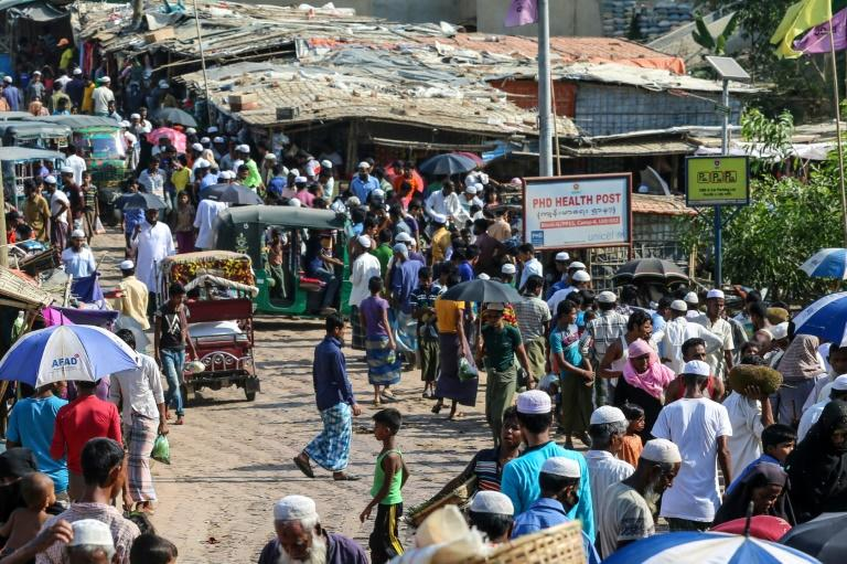 Health officials fear coronavirus could run rife in the overcrowded Rohingya refugee camps