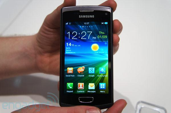 Samsung Wave 3 hands-on (video)