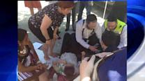 Intern faints at event for NYC Council Speaker Quinn