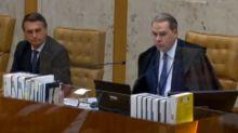 Bolsonaro vai à despedida de Toffoli no STF e ouve críticas indiretas de outros ministros