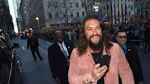 Jason Momoa gets stuck in a lift for two hours with a wrestler, a boxer and a dog