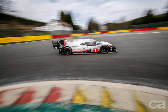 舉不驚人死不休 919 Hybrid EVO Spa賽道大破F1紀錄