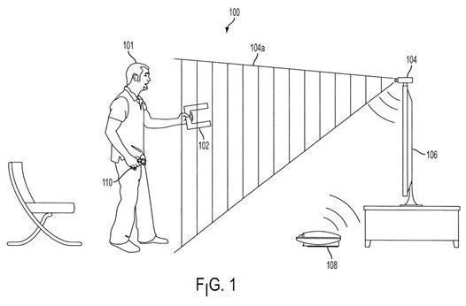 Sony nabs patent for everyday object motion detection: the fragile glass of your TV won't know what hit it