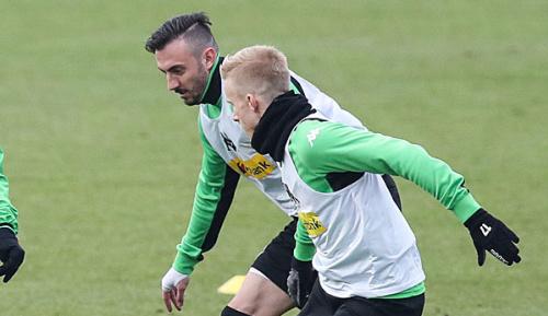 DFB-Pokal: Gladbach: Wendt und Drmic fallen bis Saisonende aus