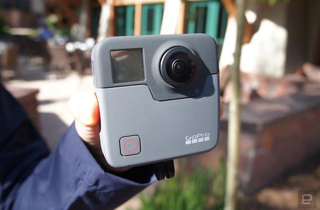 GoPro's Fusion 360-degree VR camera ships in November for $699