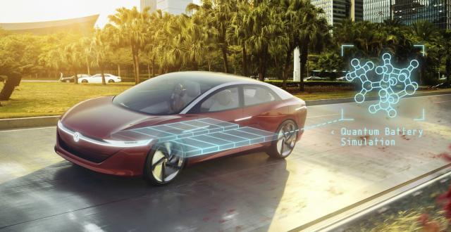 Volkswagen using quantum computers to build better EV batteries