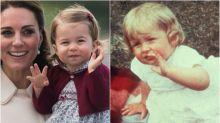 La princesa Charlotte se parece mucho a Lady Di en estas fotos