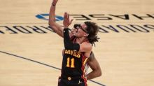 Hawks' Young out against Heat, Bucks with left ankle sprain