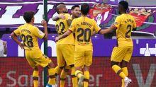 Barcelona vence o Valladolid fora de casa, e impede que Real Madrid seja campeão já nesta rodada