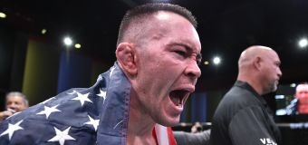 After TKO win, UFC fighter unleashes political rant