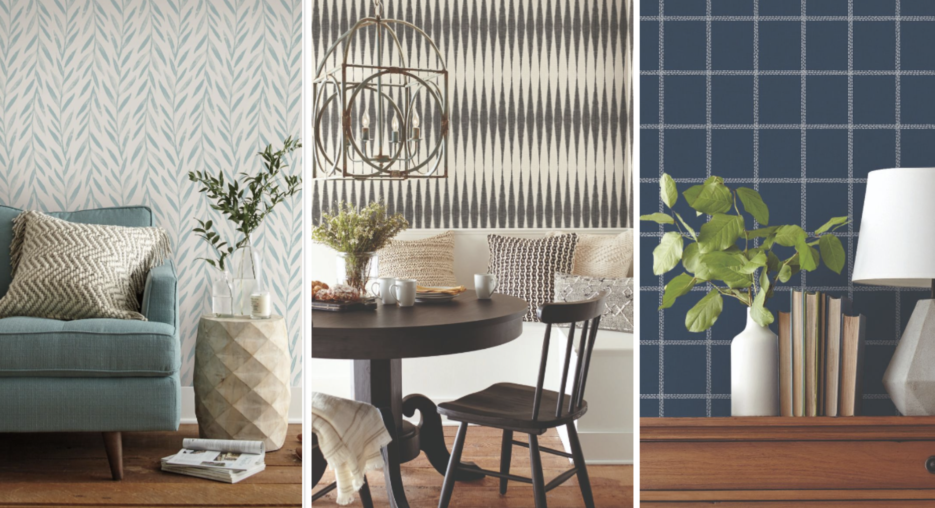 Joanna Gaines S Magnolia Home Expands Wallpaper Collection With 21 New Peel And Stick Options