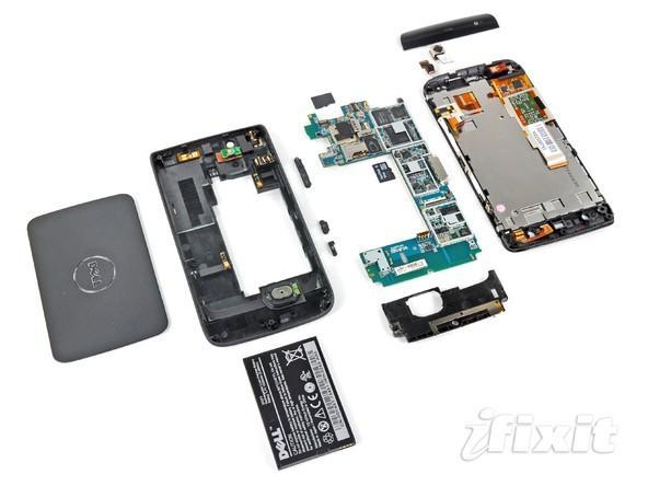 Dell Streak gets ripped to shreds by iFixit, Blondie reportedly satisfied at last