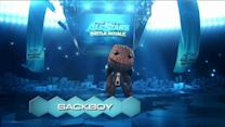 Sackboy brings the pain in Playstation All-Stars Battle Royale.
