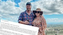 'It's 1am': Wife's powerful note to husband during 'chaotic' time