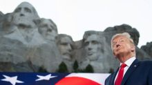 Trump Uses Mount Rushmore Event to Sic Supporters on 'Evil' Protesters