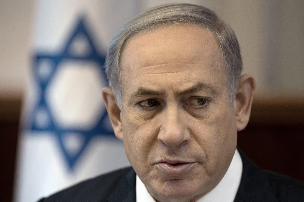 Israeli Prime Minister Benjamin Netanyahu, pictured on September 6, 2015, will visit the White House on November 9 (AFP Photo/Menahem Kahana)