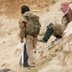 U.S.-backed force says it has taken positions in Islamic State Syria camp