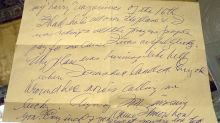 Ted Williams letter recalling Korean War plane crash to be auctioned