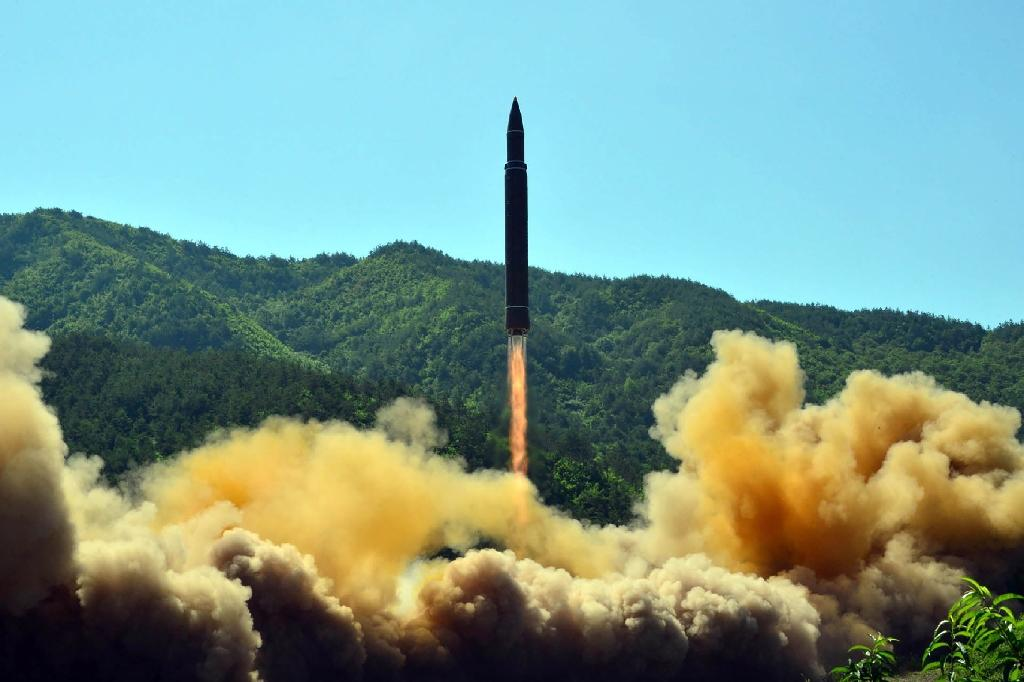 The United Nations slapped new sanctions on North Korea after Pyongyang tested two intercontinental ballistic missile last month (AFP Photo/STR)