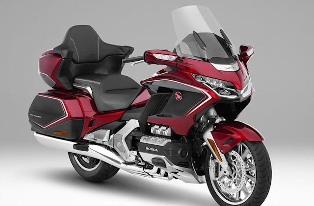Honda brings Android Auto to Gold Wing motorcycles