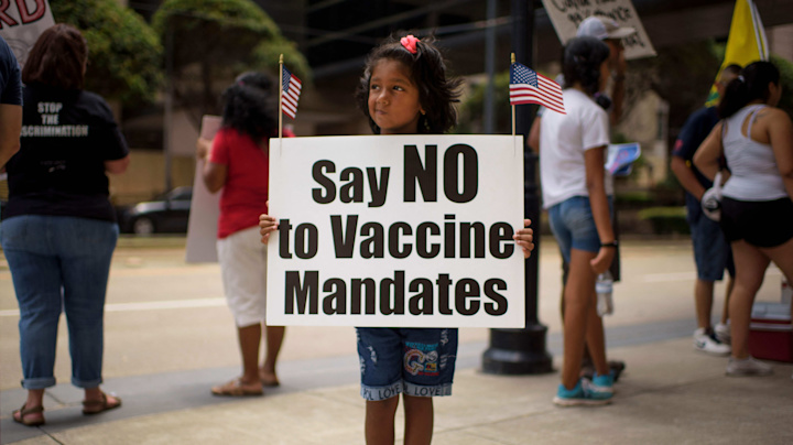 Unvaccinated will set [U.S.] on fire over and over again
