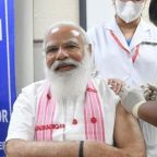 PM Narendra Modi gets Covid jab as India scales up vaccination