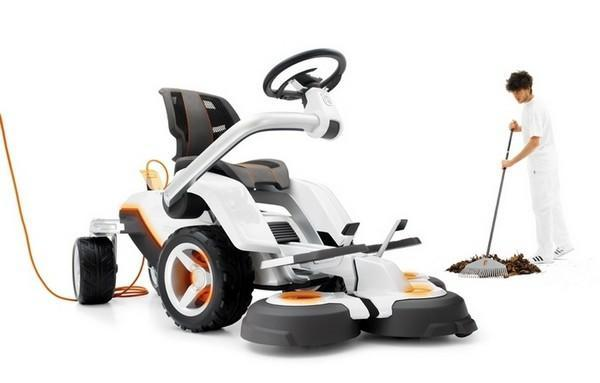 Husqvarna's Panthera Leo is the mower of the future for your lawn of today
