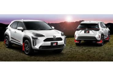 Toyota Yaris Cross甫上市便獲得TRD與Modellista改裝套件來助陣!
