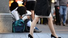 Rise in homeless people not getting refuge
