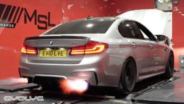 根本「四門超跑」!BMW F90 M5狂級「1000hp+」動力改