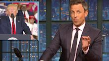 Seth Meyers: Trump Just Did The 'Dumbest Thing I've Ever Seen In Any Arena'