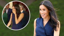Meghan Markle's fright during Melbourne appearance