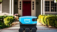 Amazon deploys self-driving delivery robots on sidewalks north of Seattle