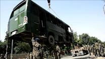 Taliban suicide attack on military bus kills at least eight