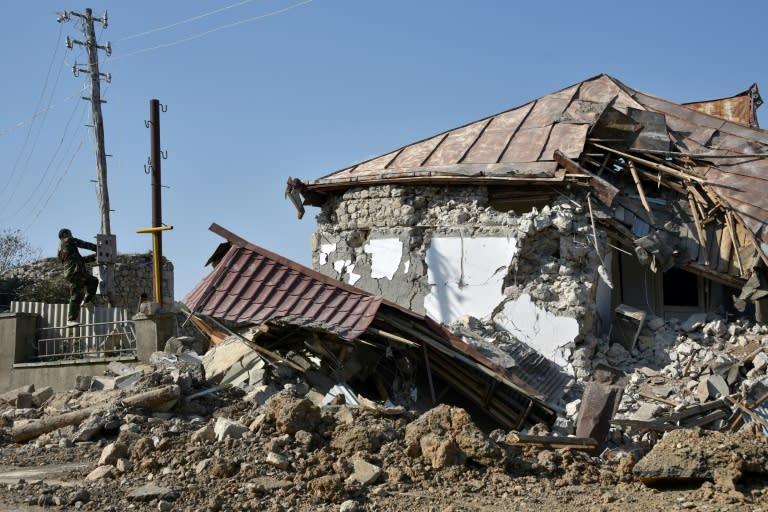 Armenia, Azerbaijan agree to end weeks of fighting over Nagorno-Karabakh