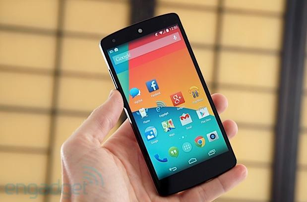 Nexus 5 coming to T-Mobile online November 14th for $450, in stores November 20th
