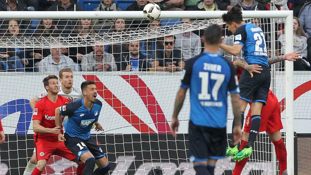 Hubner-goal, l'Hoffenheim vince ancora e stacca il biglietto per la Champions