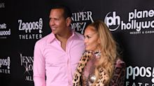 'NEVER Do This Again!': A-Rod's 'Pepto Bismol' pink suit for J.Lo's last Vegas performance gets mixed reviews