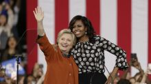 Michelle Obama at Clinton rally: 'They are trying to get you to stay home'