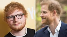 Prince Harry opens Princess Eugenie's door to Ed Sheeran in mysterious Instagram video